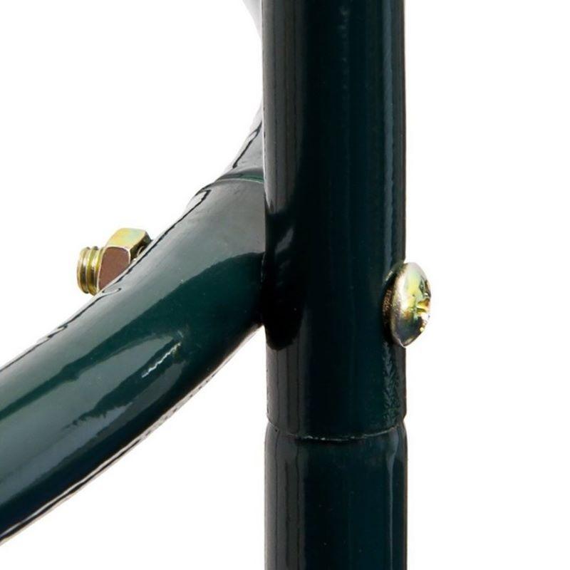 Fioriera da esterno in ferro per supporto rampicanti