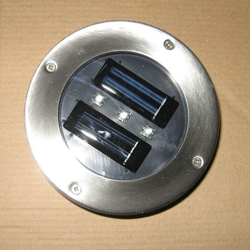 Faretti Giardino Energia Solare: Esterni ad energia solare pannello led lampade a luce percorso ...