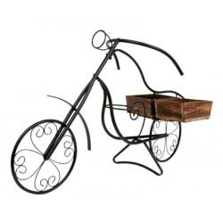 Fioriera portavasi da interno, esterno e balcone bicicletta