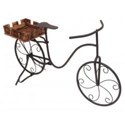 Fioriera portavasi da interno, esterno e balcone bici