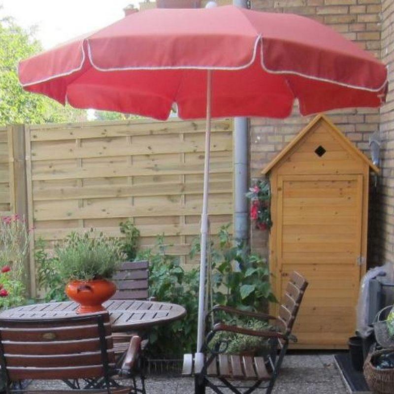 Armadio Legno Esterno : Armadio da esterno in legno portascope e attrezzi per balcone