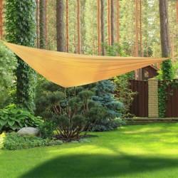 Vele ombreggianti triangolari da giardino beige