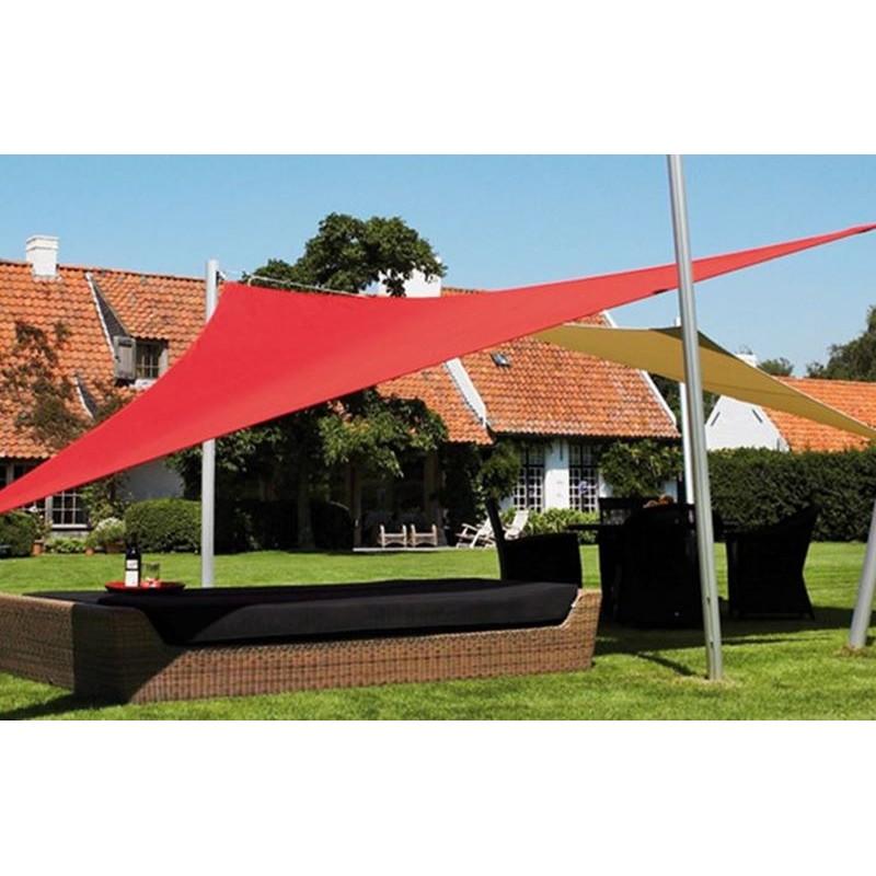 Tende a vela ombreggianti triangolari colorate da giardino - Tende ombreggianti per esterno ...