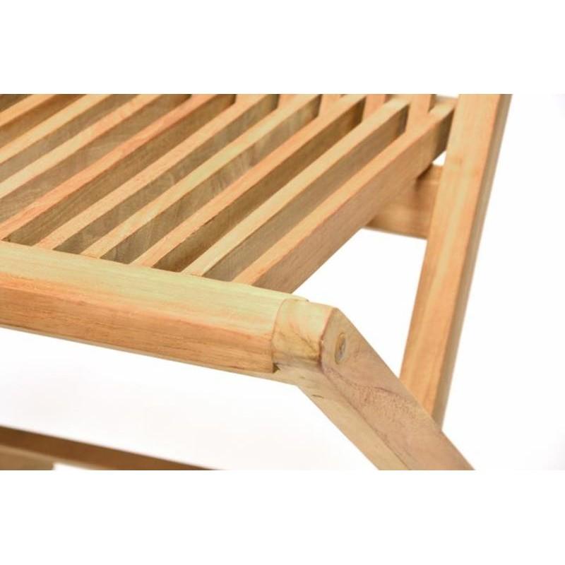 Sedie da giardino pieghevoli in legno di teak - Tavoli da giardino in legno teak ...