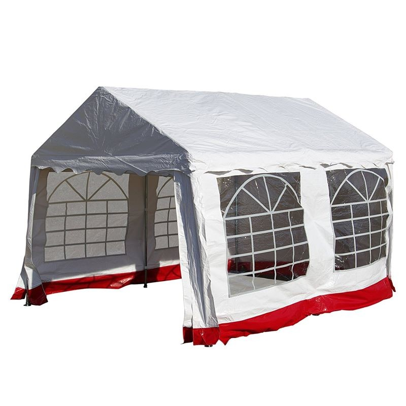 gazebo da giardino in pvc impermeabile 4x3. Black Bedroom Furniture Sets. Home Design Ideas