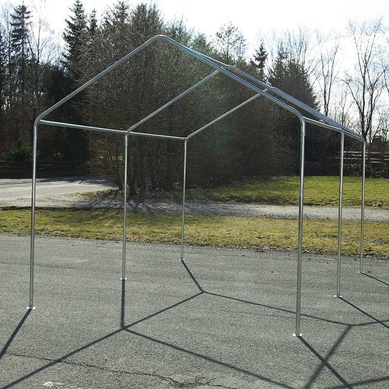 Gazebo da giardino in pvc impermeabile 4x3