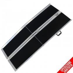 Rampa disabili pieghevole portatile in alluminio