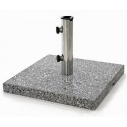 Base in marmo da 25 kg. per ombrelloni da giardino e terrazzo