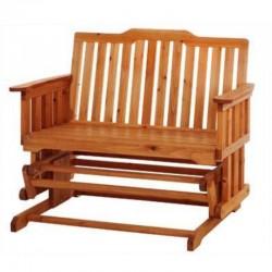 Cassapanca da esterno in legno per giardino balcone o for Panchina a dondolo