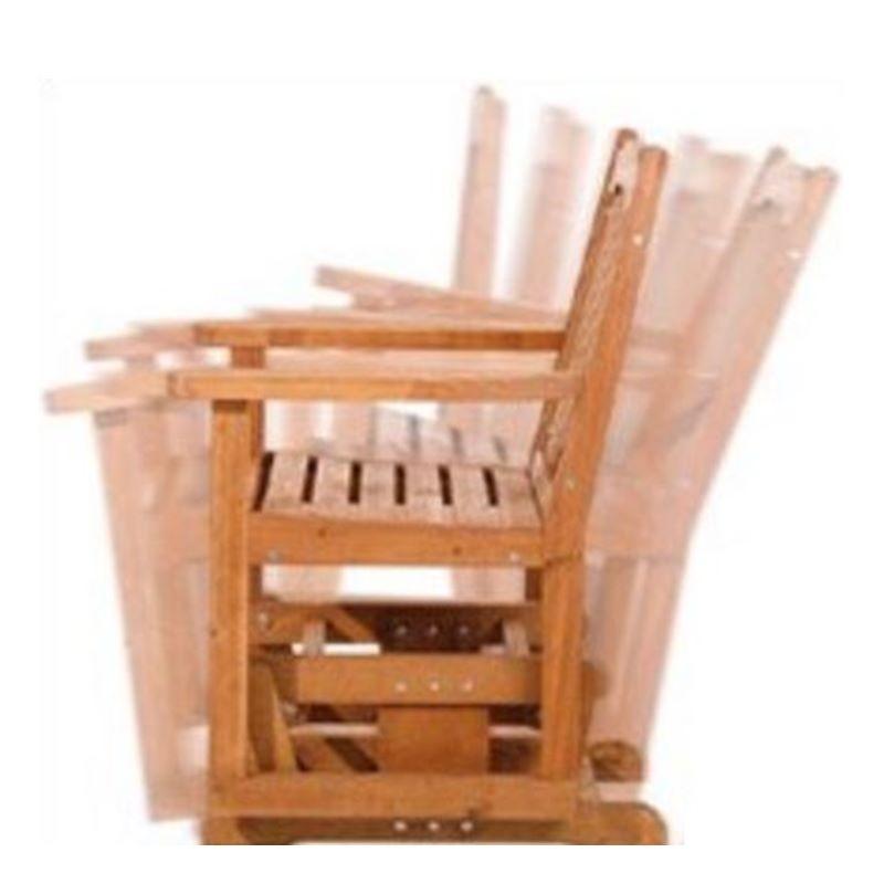 panchina a dondolo 2 posti in legno da giardino ForPanchina A Dondolo