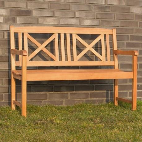 Panchina da giardino in legno 2 posti modello Torino