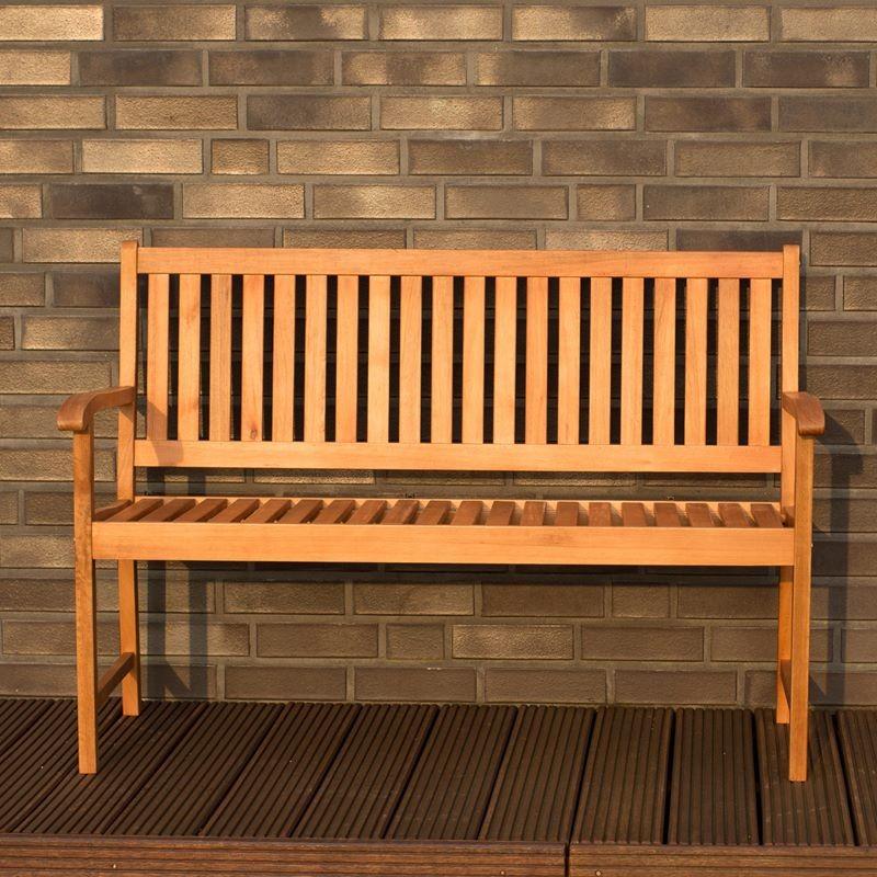 Panchina da esterno in legno 2 posti mod milano for Articoli da giardino milano