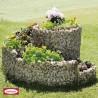 Aiuole in pietra per giardino rialzato