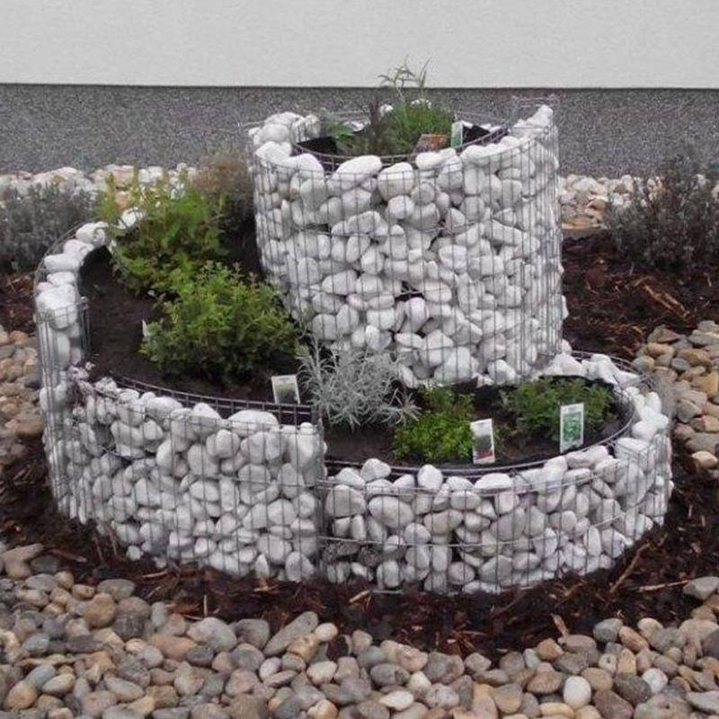 Gabbione a spirale 110x90 cm per orto e giardino rialzato - Quando seminare erba giardino ...