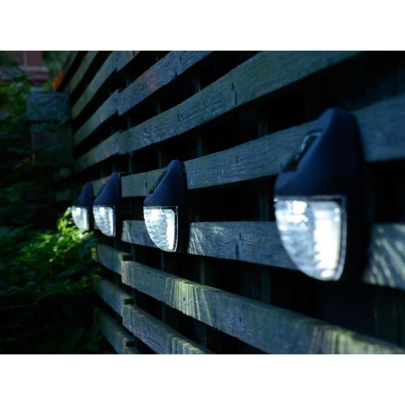 Lampade solari da giardino per montaggio a muro - Lampade a muro per esterno ...