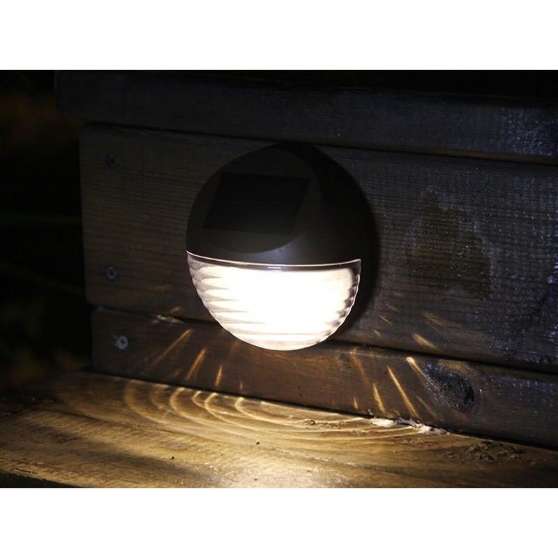 Lampade solari da giardino per montaggio a muro - Lampade a energia solare da esterno ...