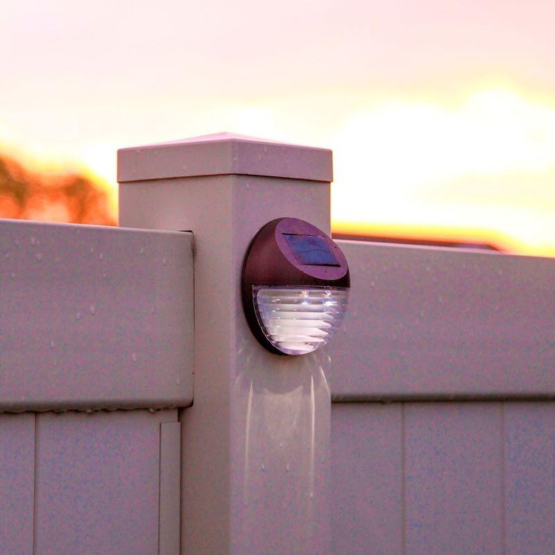 Lampade solari da giardino per montaggio a muro - Lampade da esterno solari ...
