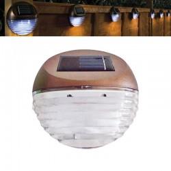 Lampade solari da giardino per montaggio a muro