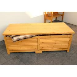 Cassapanca da esterno in legno per giardino o balcone