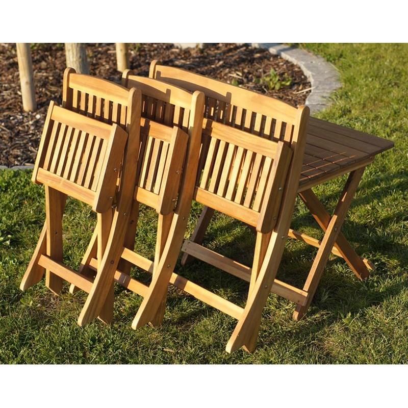 Tavolino sedie e panca in legno da giardino per bambini - Sedie giardino legno ...