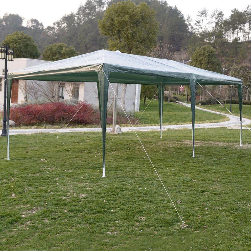 Foto Giardini Con Gazebo.Gazebo 3x6 Da Giardino Con Tutti I Teli Laterali