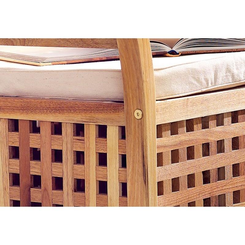 Cassapanca in legno da interno for Panca arredo