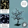 Albero di Natale da esterno con luci led bianco caldo o freddo