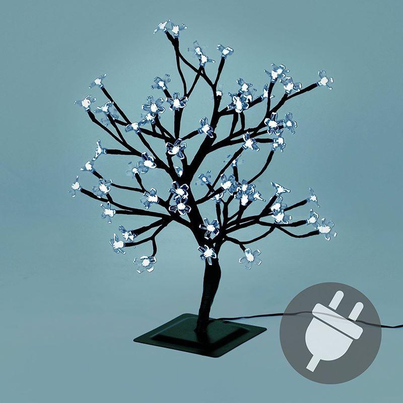 Albero di natale da esterno con luci led bianco caldo o freddo for Articoli per esterno
