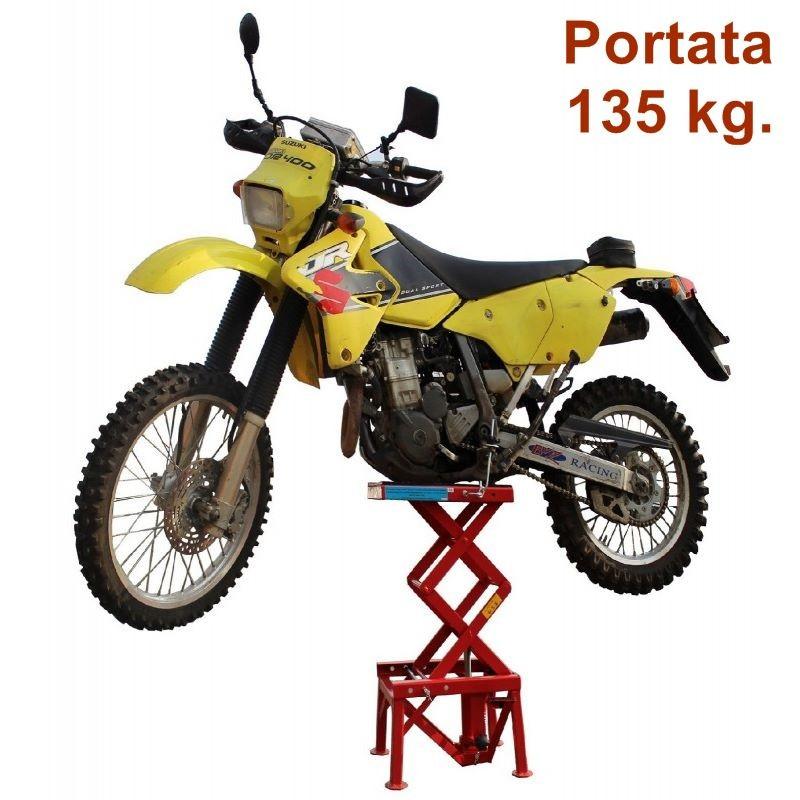 Alzamoto Idraulico Ponte Sollevatore Per Moto Cross Enduro