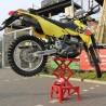 Alzamoto idraulico: ponte sollevatore per moto cross enduro