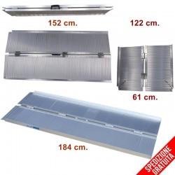 Rampe disabili pieghevoli portatili in alluminio