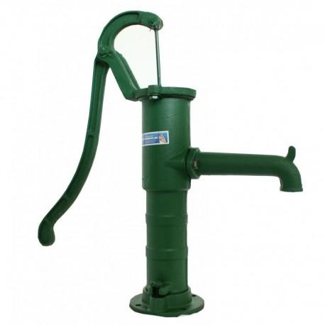 Fontanella a mano da giardino con pompa per pozzo in ghisa