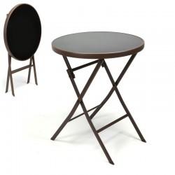Tavolo bistrot pieghevole da esterno per bar e ristoranti