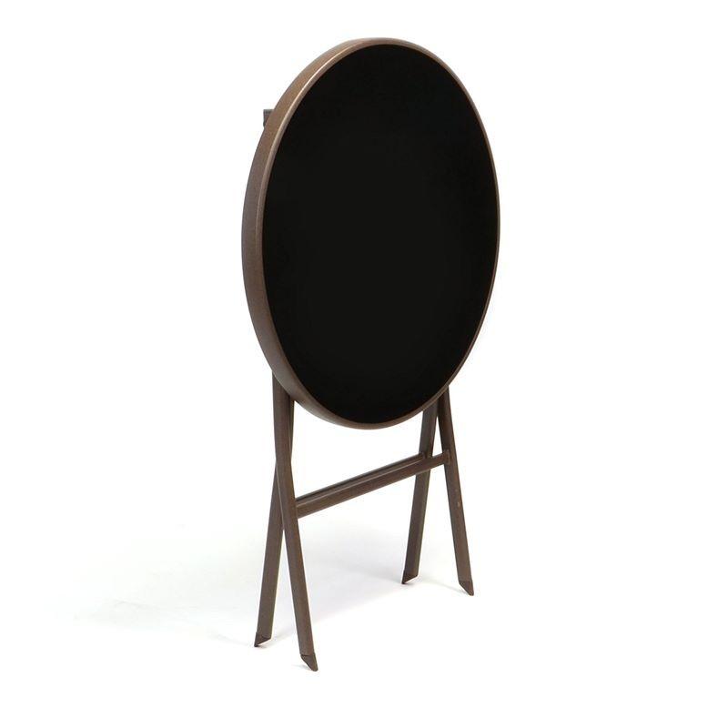 Set bistrot tavolo pieghevole e 2 sedie per arredo esterno - Tavolo e sedie per esterno ...