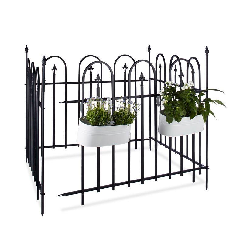 Recinzione giardino in ferro componibile for Decorazioni in ferro per giardino