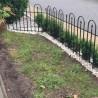 Recinzione giardino in ferro componibile