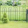 Recinzione per giardino in ferro