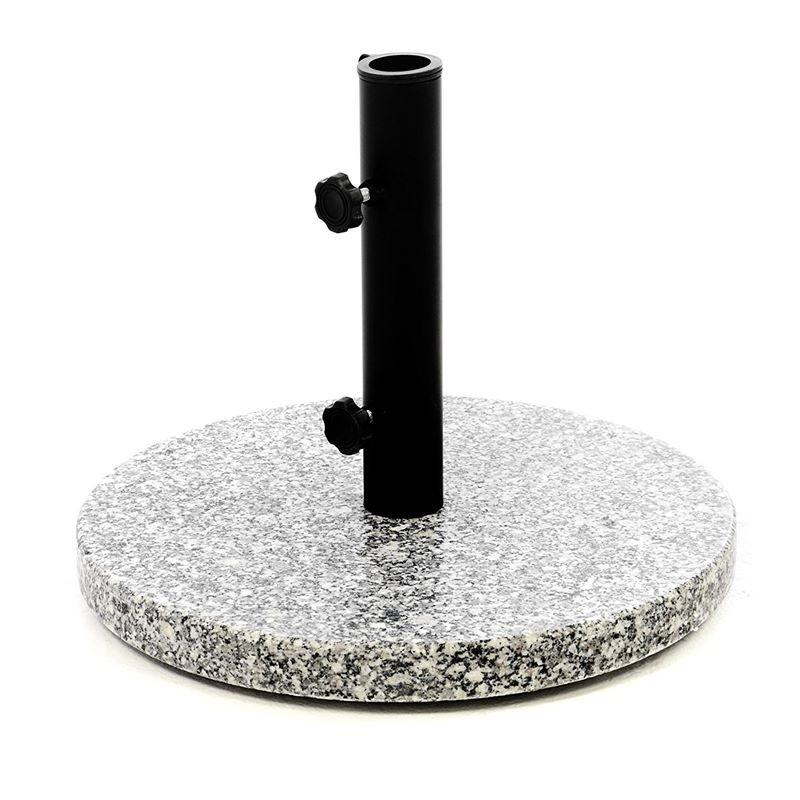 Supporti Per Ombrelloni Da Giardino.Base Per Ombrellone In Granito Da 10 Kg Modello Genova
