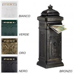 Cassetta postale da esterno stile inglese antico