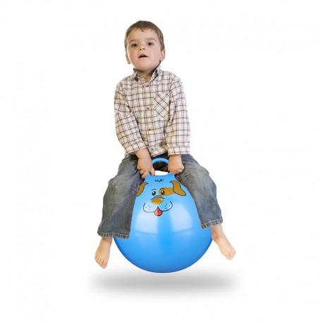 Palla per saltare con maniglia da bambini