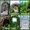 Archetto da giardino in ferro per rampicanti e rose