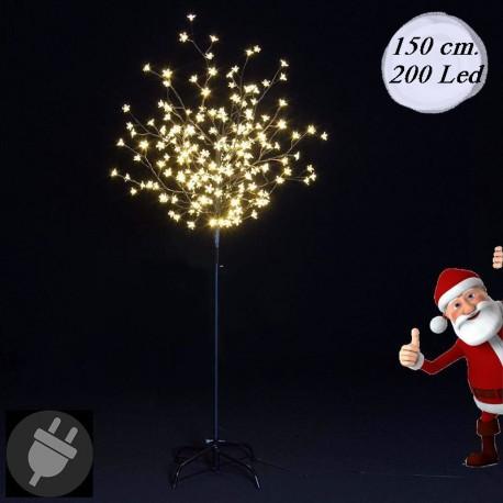 Albero di Natale da esterno con luci led