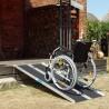 Rampe disabili pieghevoli portatili in alluminio antisdrucciolo