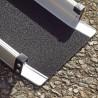Coppia rampe disabili telescopiche portatili in alluminio