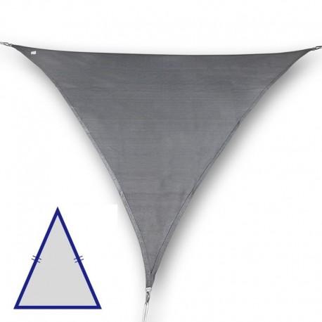 Vela triangolare isoscele da giardino in poliestere antracite