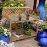 Tavolo da lavoro per giardinaggio in legno