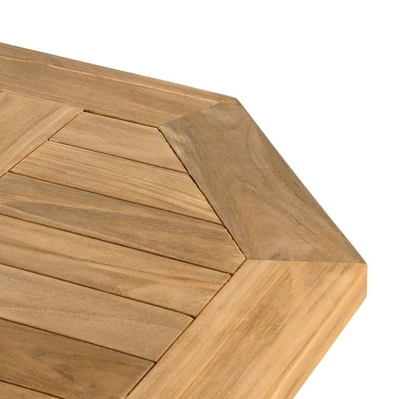 Tavoli In Teak Da Giardino.Tavolo E Sedie In Legno Di Teak Da Esterno Per Giardino E Balcone