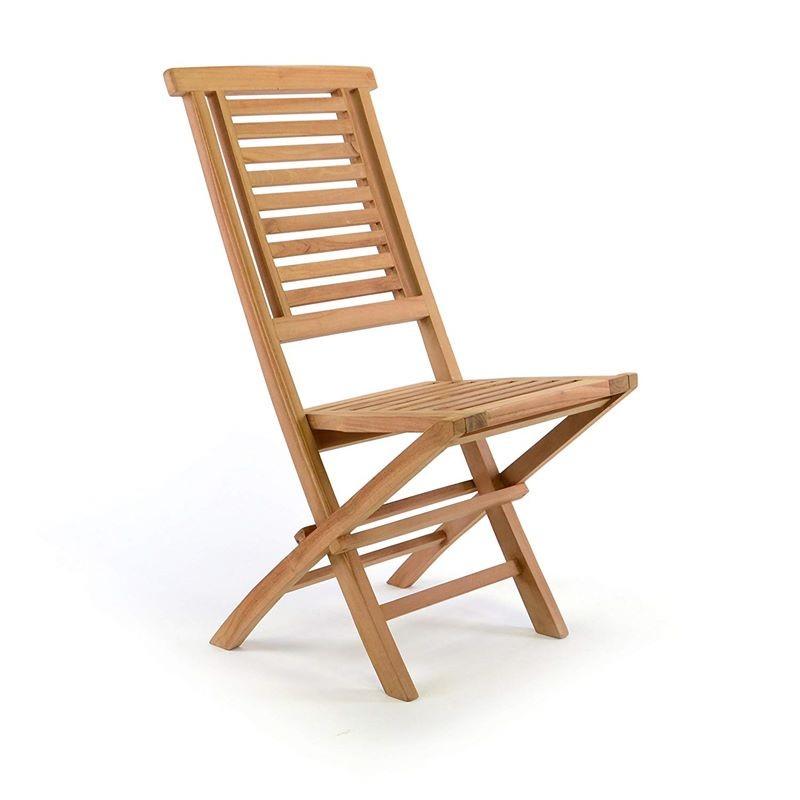 Sedie In Legno Da Giardino.Sedie Da Giardino Pieghevoli In Legno Teak
