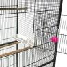 Voliera per pappagalli inseparabili da interno grande