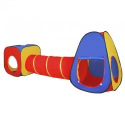 Tende gioco per bambini con tunnel da giardino